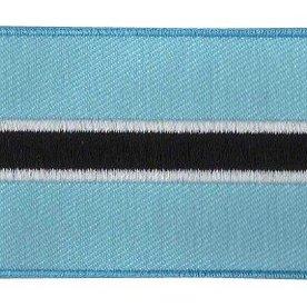 Flaggenpatch Botswana