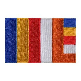 flag patch Buddhism