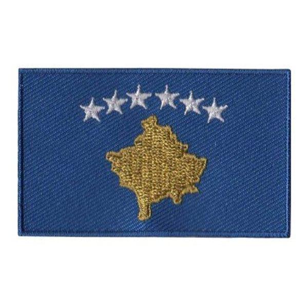 Flagge Patch Kosovo