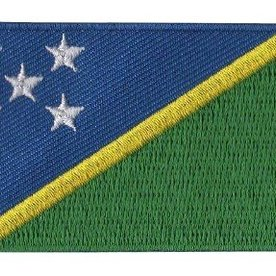 Flagge Patch Salomon-Inseln