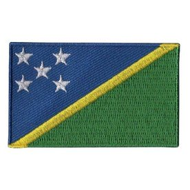 BACKPACKFLAGS flag patch Solomon Islands