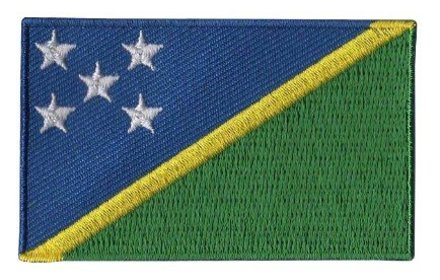 vlag patch Solomon eilanden
