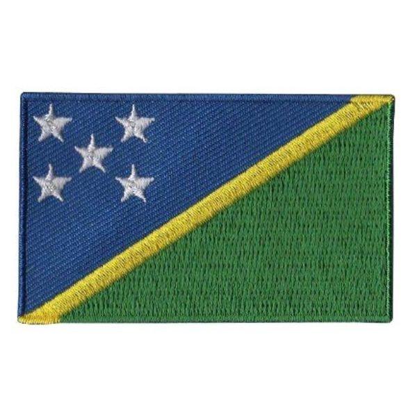 Flagge Patch Salomon-Inseln