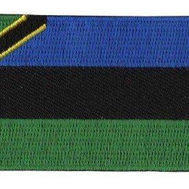 BACKPACKFLAGS flag patch Zanzibar