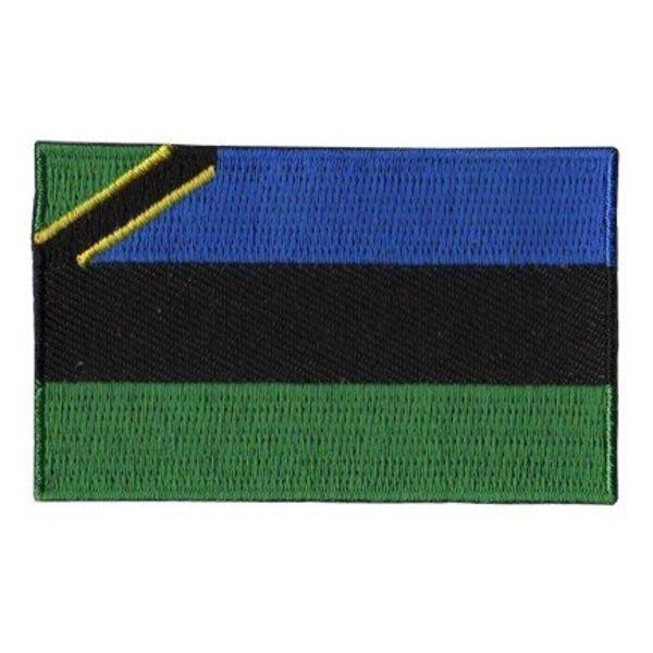 Flaggenpatch Sansibar