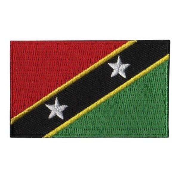 BACKPACKFLAGS flag patch Saint Kitts and Nevis