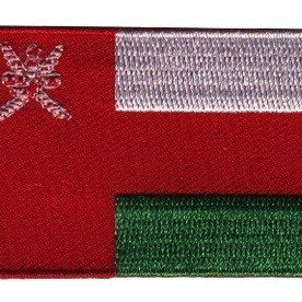 Flaggenpatch Oman