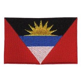 Flaggenpatch Antigua und Barbuda