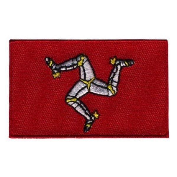 Flaggenflecken Isle of Man