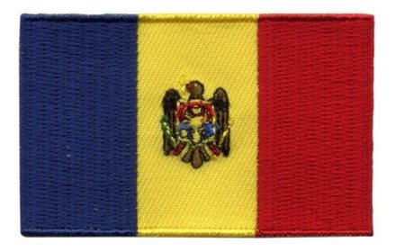 flag patch Moldova