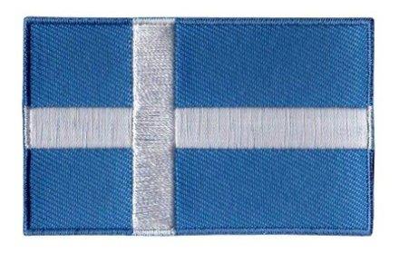 flag patch Shetland