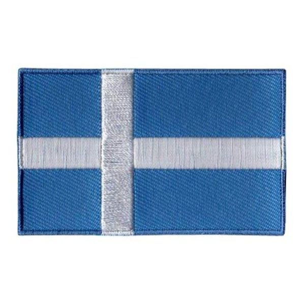BACKPACKFLAGS flag patch Shetland