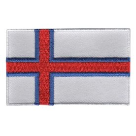 BACKPACKFLAGS flag patch Faroe Islands