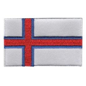 Flagge Patch Färöer Inseln