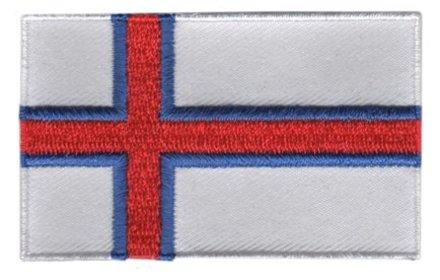 vlag patch Faeröer