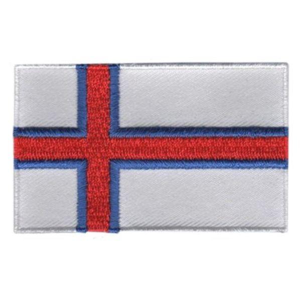 BACKPACKFLAGS flag patch Faroe Islands