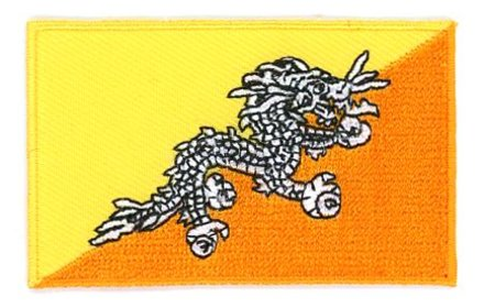 flag patch Bhutan