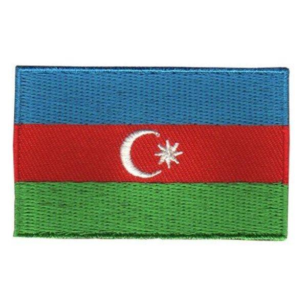 Flaggenpatch Aserbaidschan