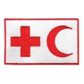 BACKPACKFLAGS flag patch IFRC