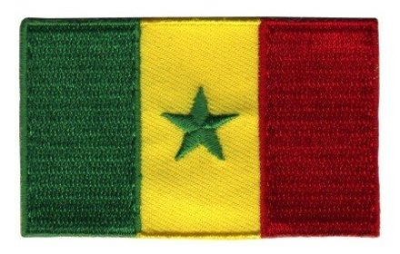 flag patch Senegal