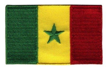 Flagge Patch Senegal