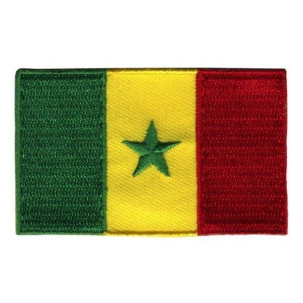 BACKPACKFLAGS flag patch Senegal