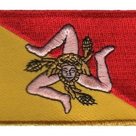 BACKPACKFLAGS flag patch Sicily