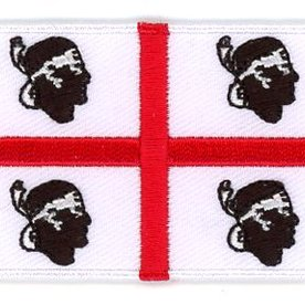 BACKPACKFLAGS flag patch Sardinia