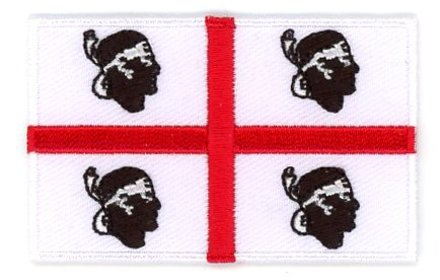 flag patch Sardinia