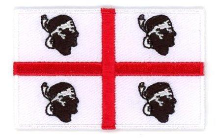 vlag patch Sardinië