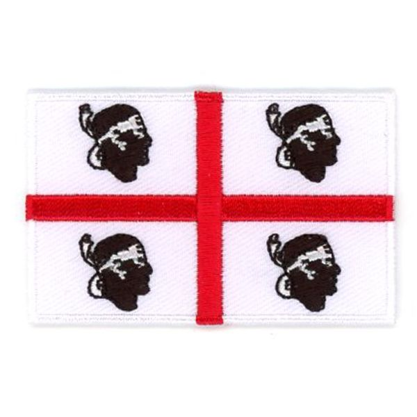 Flagge Patch Sardinien
