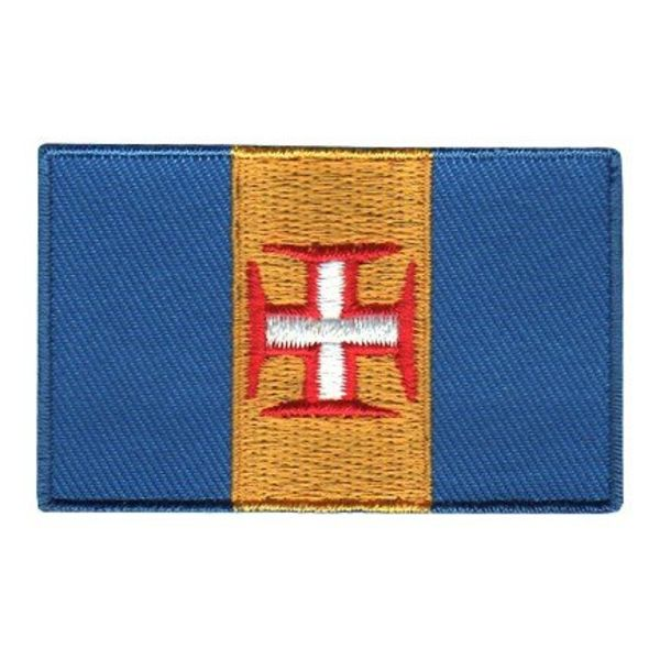 BACKPACKFLAGS flag patch Madeira