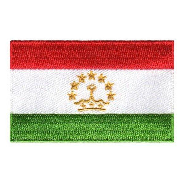 Flaggenpatch Tadschikistan