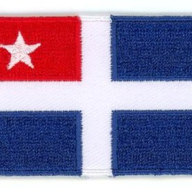 Flagge Patch Kreta