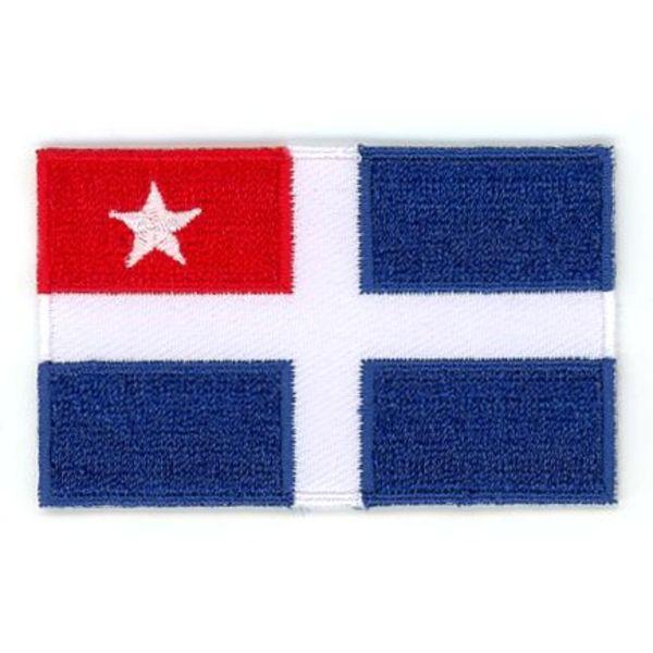 Flagge Patch Kreta