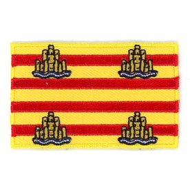 BACKPACKFLAGS flag patch Ibiza