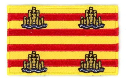 vlag patch Ibiza