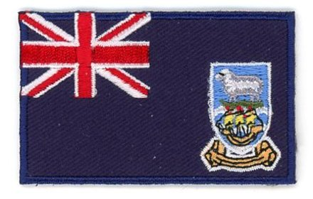 Flag Patch Falklandinseln