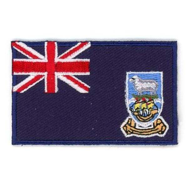 BACKPACKFLAGS flag patch Falkland Islands