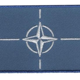 Flaggenpatch NATO