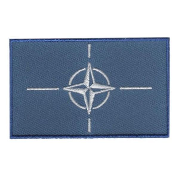 BACKPACKFLAGS flag patch NATO