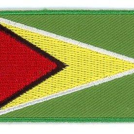 flag patch Guyana