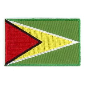 BACKPACKFLAGS flag patch Guyana