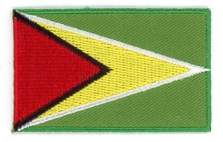 Flaggenpatch Guyana