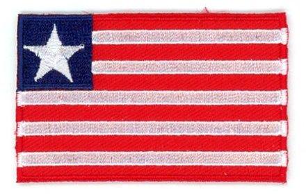 flag patch Liberia