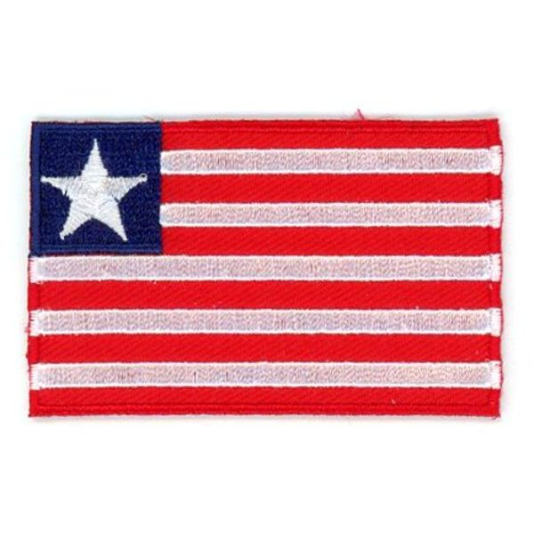 BACKPACKFLAGS flag patch Liberia