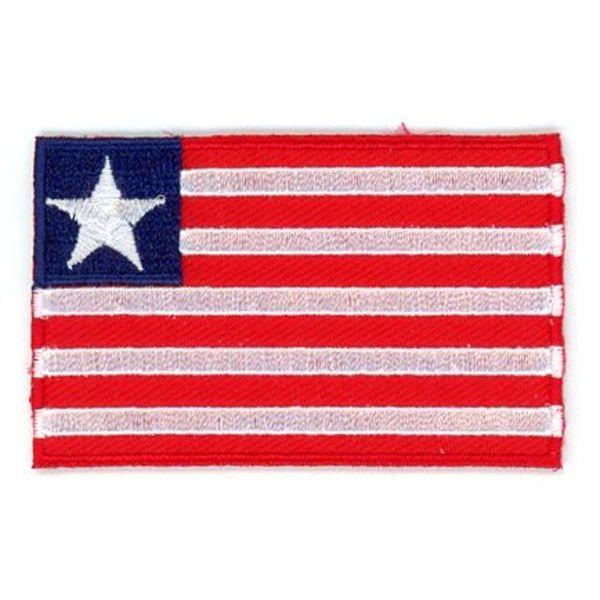 Flagge Patch Liberia