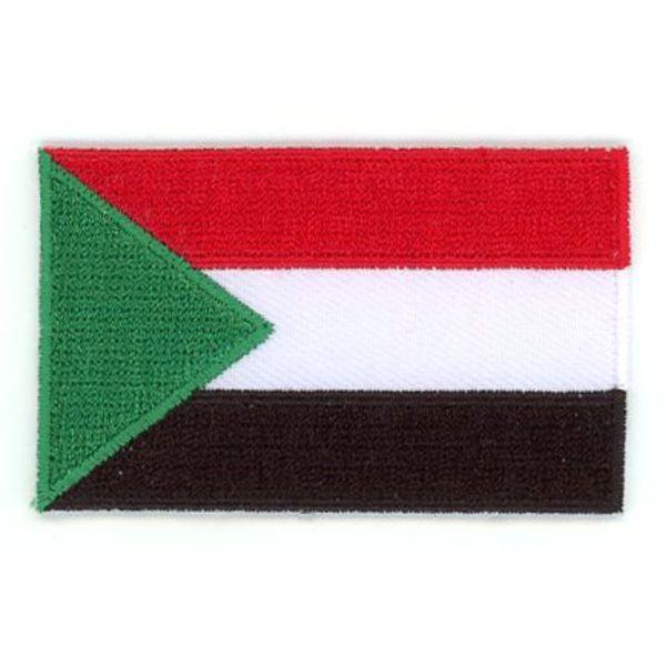 Flaggenpatch Sudan