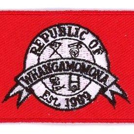 BACKPACKFLAGS flag patch Whangamomona
