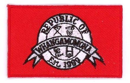 vlag patch Whangamomona